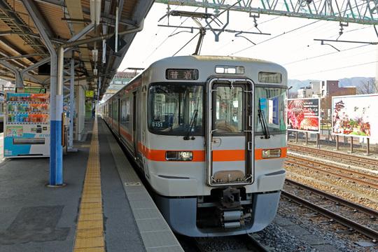 313系@上諏訪駅
