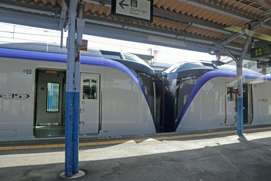 スーパーあずさ1号@上諏訪駅