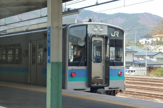 E127系@辰野駅