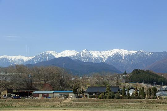 南駒ケ岳あたり?