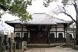 180225台東区 大雄寺のクス