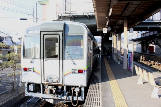 ⑱総社駅ホーム