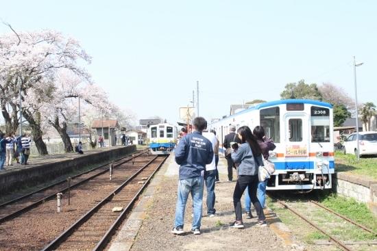 ⑦黒子駅引込線