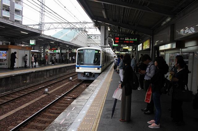 ⑳堺東駅ホーム
