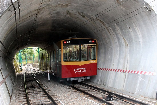③トンネル内