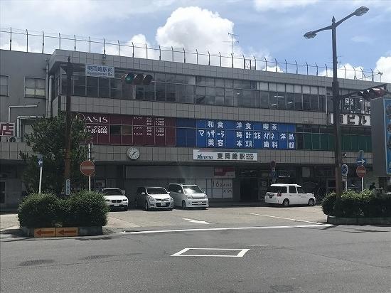 ②東岡崎駅舎