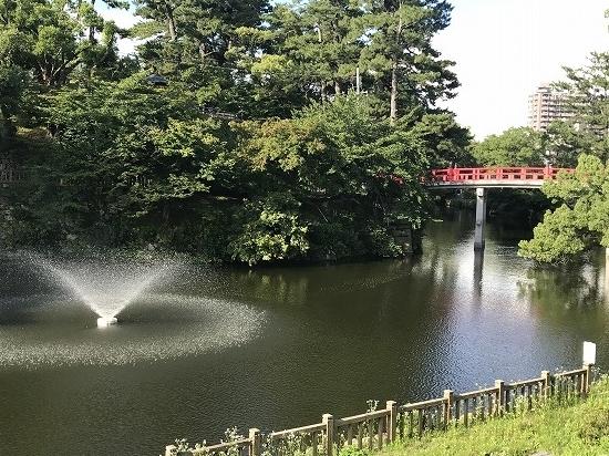 ⑦岡崎公園噴水