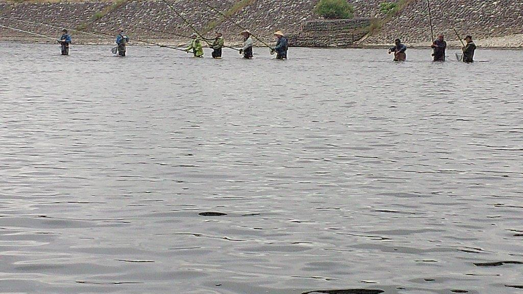 6月16日4渇水の神通川