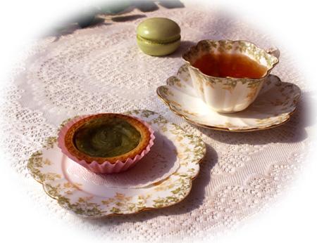 410抹茶タルト・ヌワラエリア
