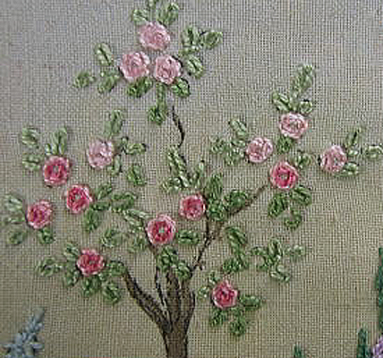 517英国刺繍部分1・トレイ