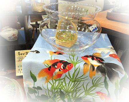 518ガラス&金魚