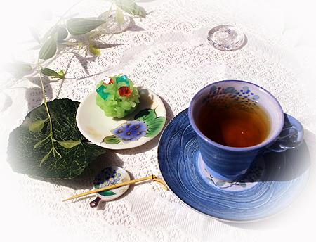 613和菓子紫陽花ディンブラ