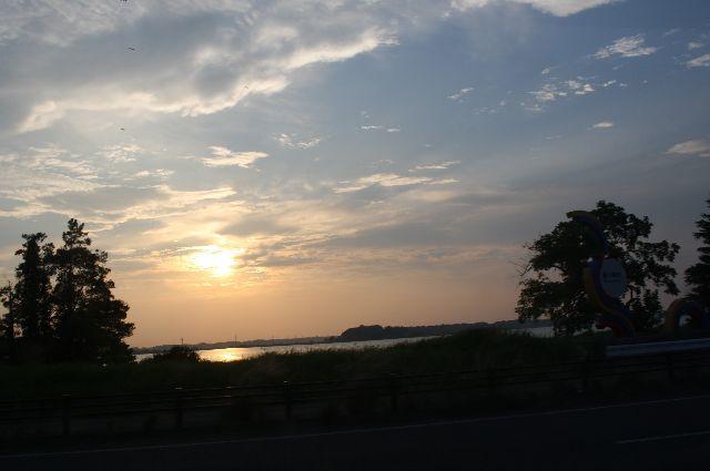 茨城の自然 夕日