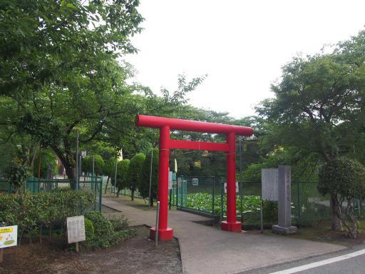 20180708・近所朝の散歩02・岩崎弁財天