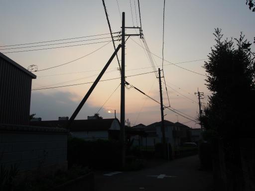 20180715・早朝狭山湖の空06・05:26・日の出
