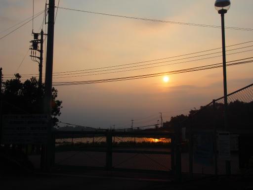 20180715・早朝狭山湖の空09・05:35