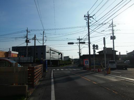 20180714・狭山ヶ丘散歩空12・竜安寺前交差点(