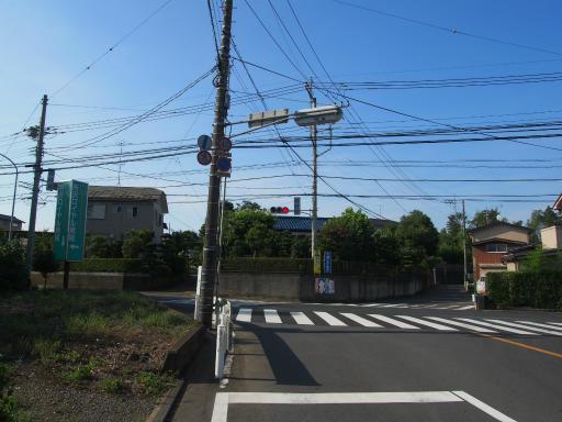 20180714・狭山ヶ丘散歩空22・稲荷坂交差点