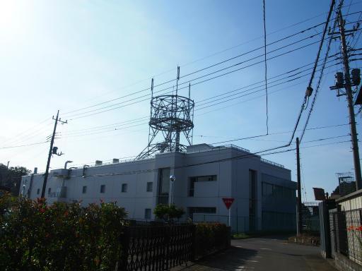 20180714・狭山ヶ丘散歩空21・電話局と空