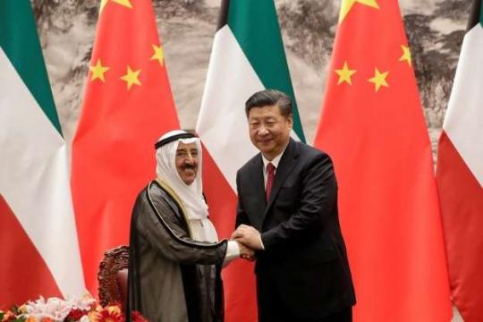 中国とアラブ首長国連合縮小版