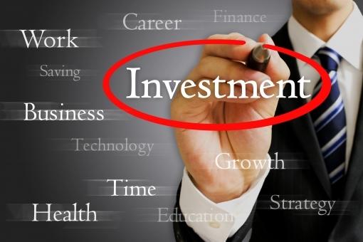ビジネスマンと投資