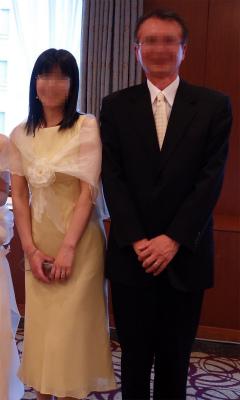 2018年5月結婚式の1