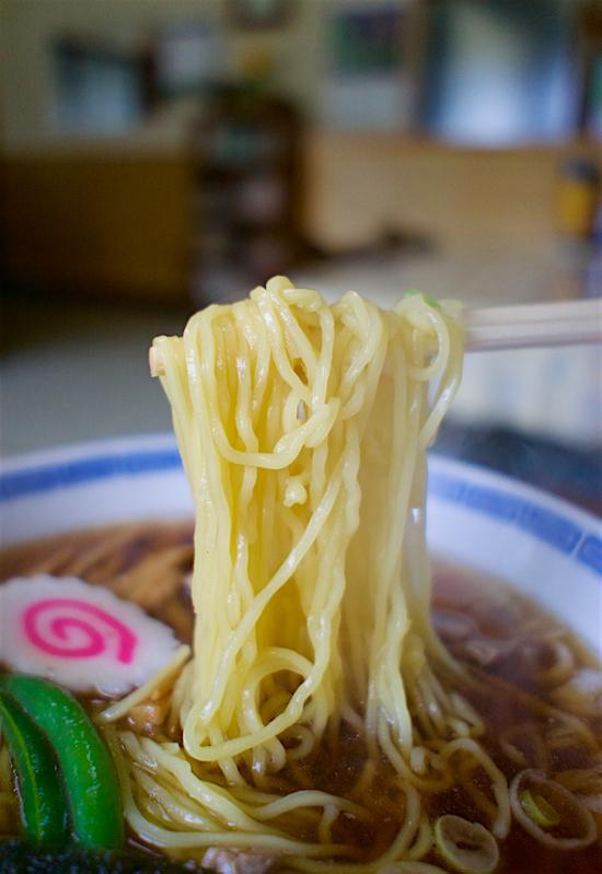 松川食堂@塩谷町玉生 麺