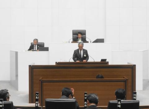 「茨城県議会新部長初答弁」④堀江