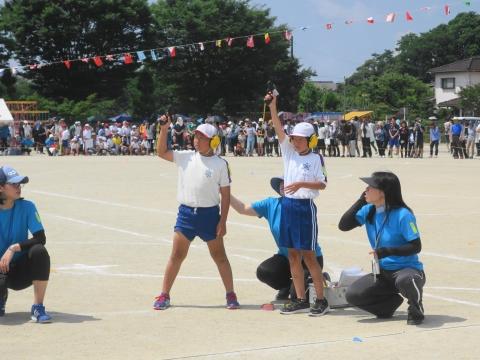 「平成30年度東小運動会」⑥