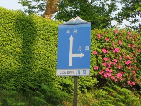 「子供や自転車がドブに落ちてしまう路肩」川又地区 (9)