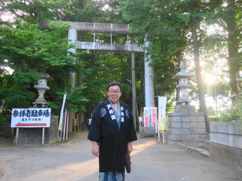 「茅の輪くぐり&八坂神社例大祭」①