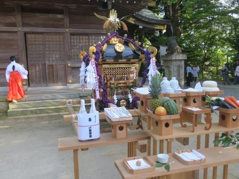 「茅の輪くぐり&八坂神社例大祭」③