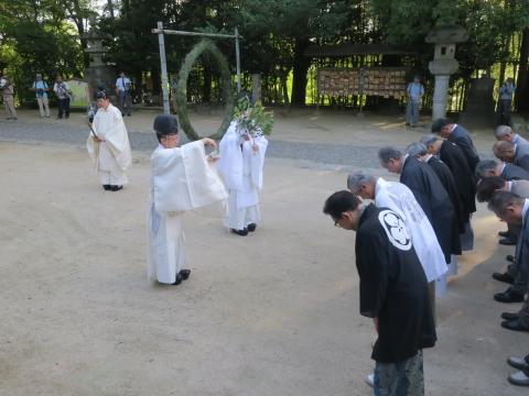 「茅の輪くぐり&八坂神社例大祭」⑤