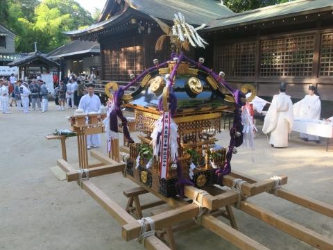 「茅の輪くぐり&八坂神社例大祭」④