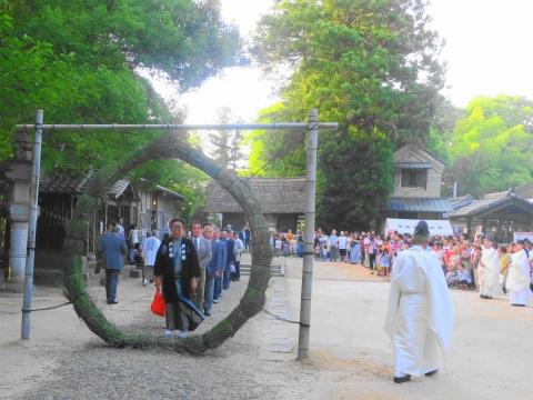 「茅の輪くぐり&八坂神社例大祭」⑦