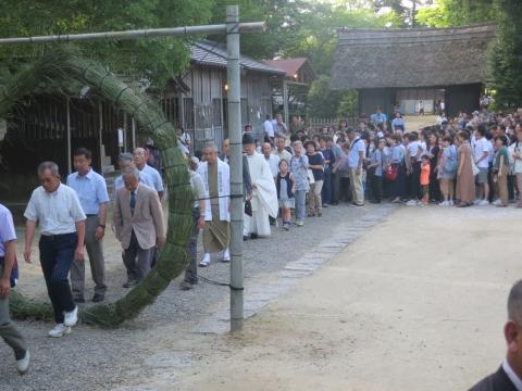 「茅の輪くぐり&八坂神社例大祭」⑨