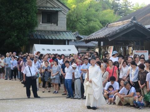 「茅の輪くぐり&八坂神社例大祭」⑫