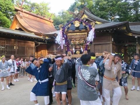 「茅の輪くぐり&八坂神社例大祭」⑭