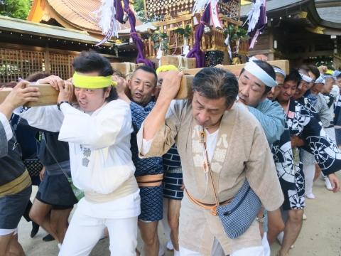 「茅の輪くぐり&八坂神社例大祭」⑮