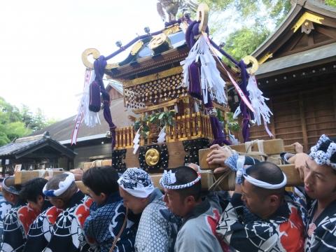 「茅の輪くぐり&八坂神社例大祭」⑯