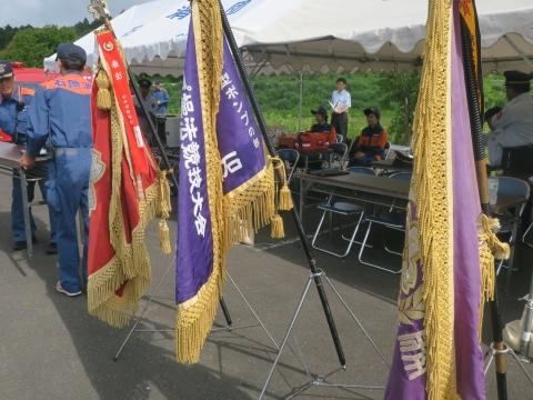 「石岡市消防団ポンプ操法大会」⑥
