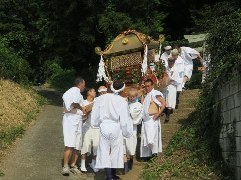 「染谷八坂神社祗園際」⑥