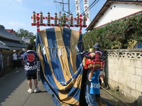 「染谷八坂神社祗園際」⑨