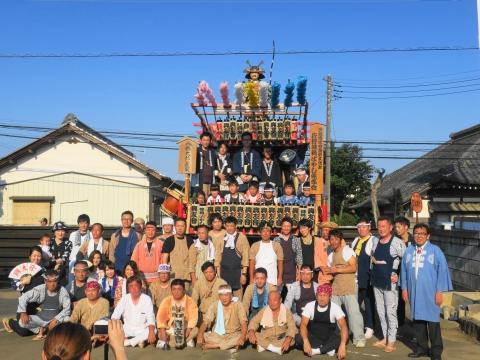 「片野八幡神社祗園祭」①