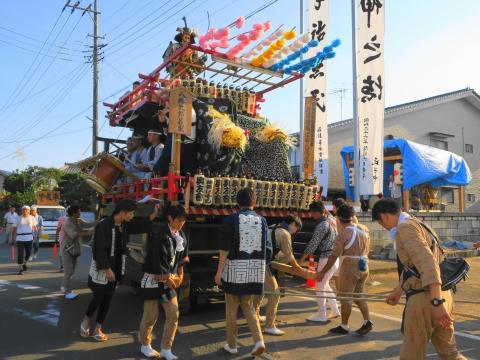 「片野八幡神社祗園祭」②