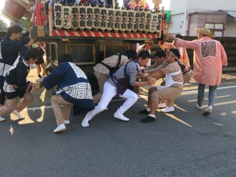 「片野八幡神社祗園祭」③