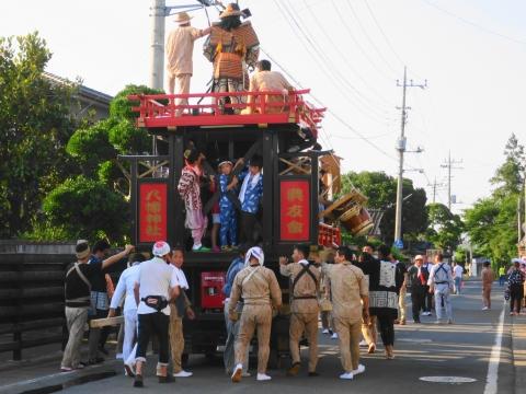 「片野八幡神社祗園祭」④