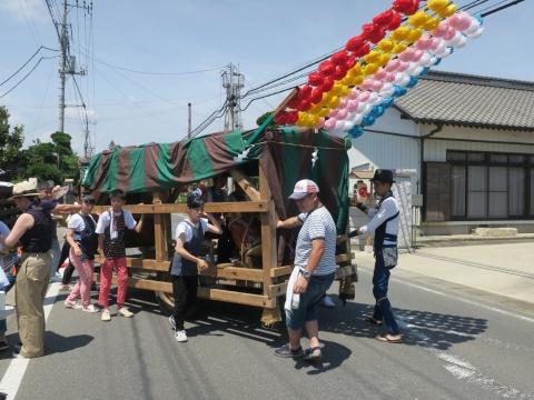「片野八幡神社祗園祭」⑦