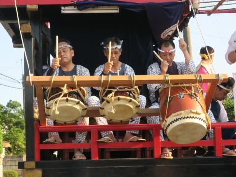 「片野八幡神社祗園祭」②1