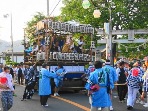 「小幡地区 白鳥神社祇園祭」②
